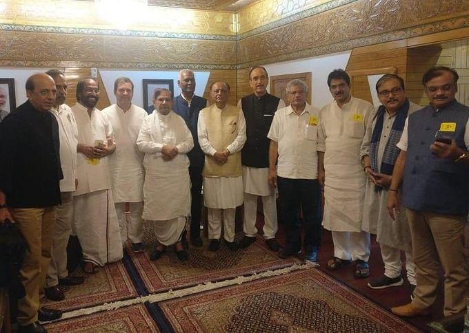 leaders in srinagar
