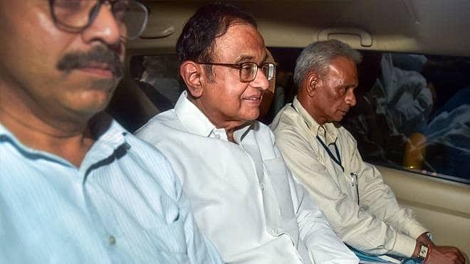 P.Chidambaram arrested