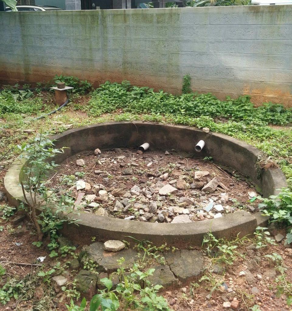 சிவராம் வீட்டு மழை நீர் சேகரிப்புத் தொட்டி