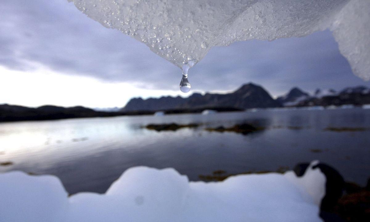 Melting Ice/ Representational Image