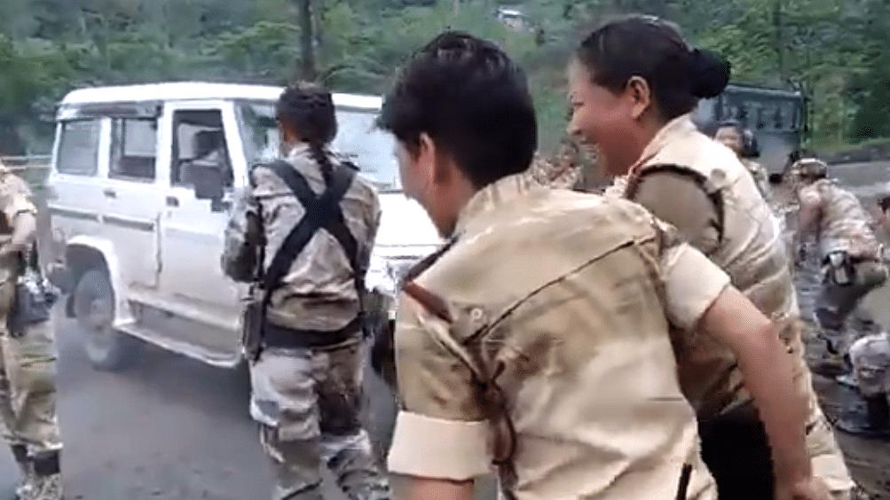 Naga women Battalion lifts SUV