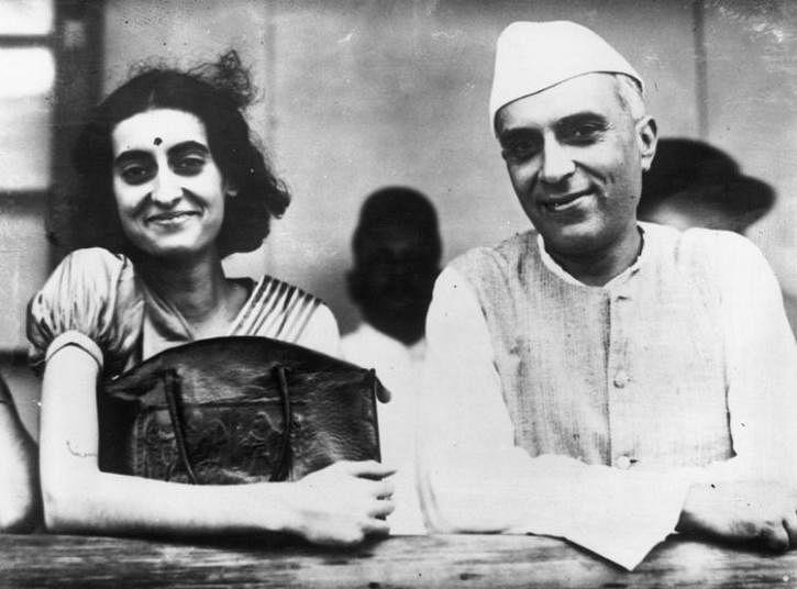 Jawaharlal Nehru, Indira Gandhi