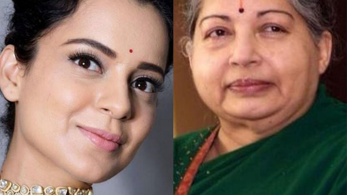 கங்கனா ரனாவத் - ஜெயலலிதா