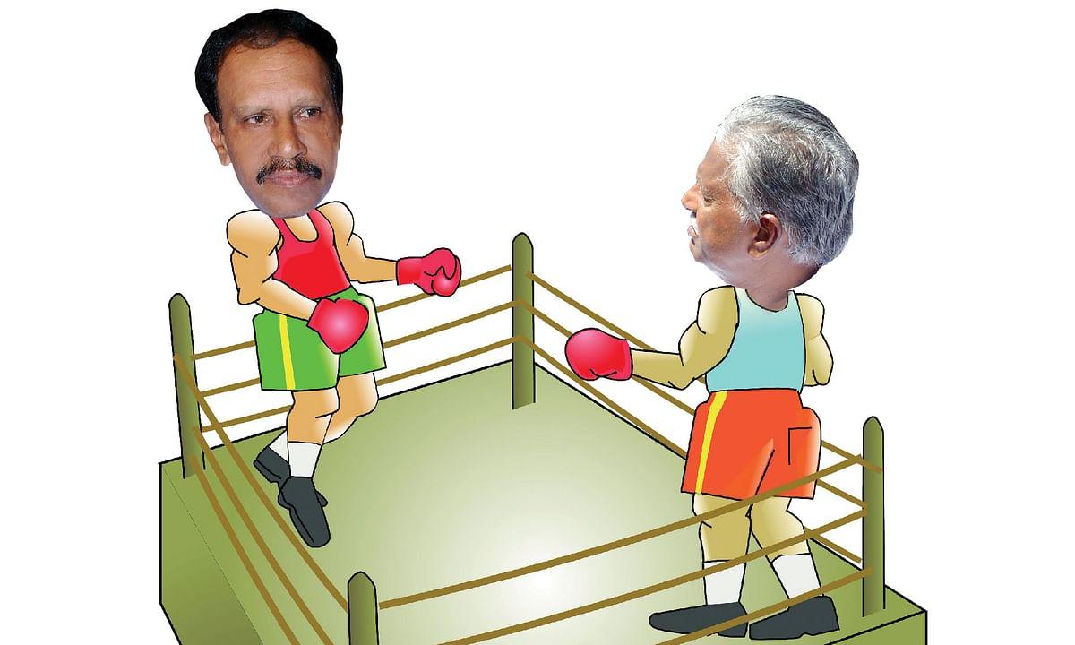 தம்பிதுரை, கே.பி.முனுசாமி