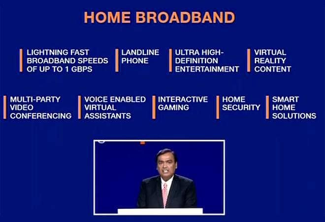 Jio Broadband Features