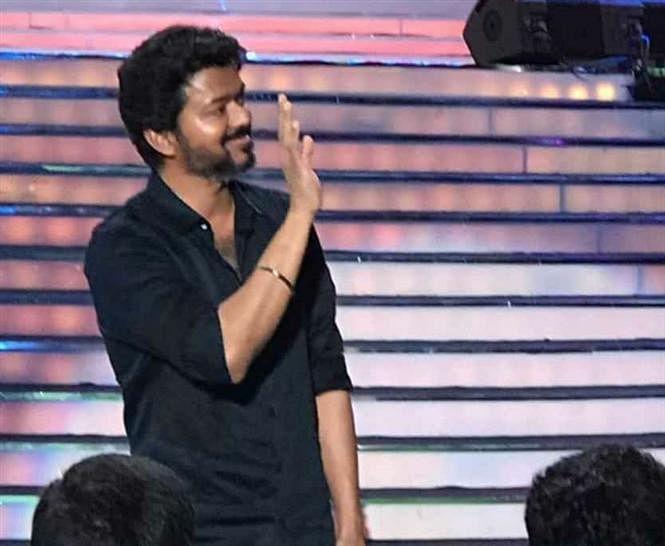 Vijay at Bigil Audio Launch