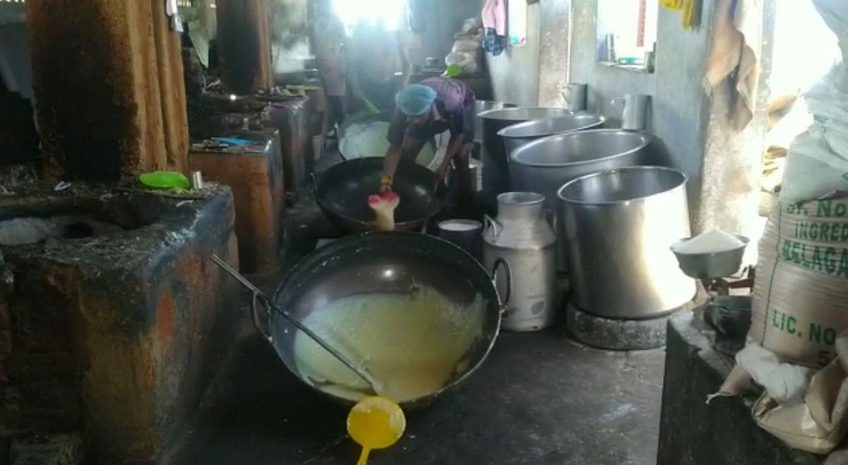 Palkova making