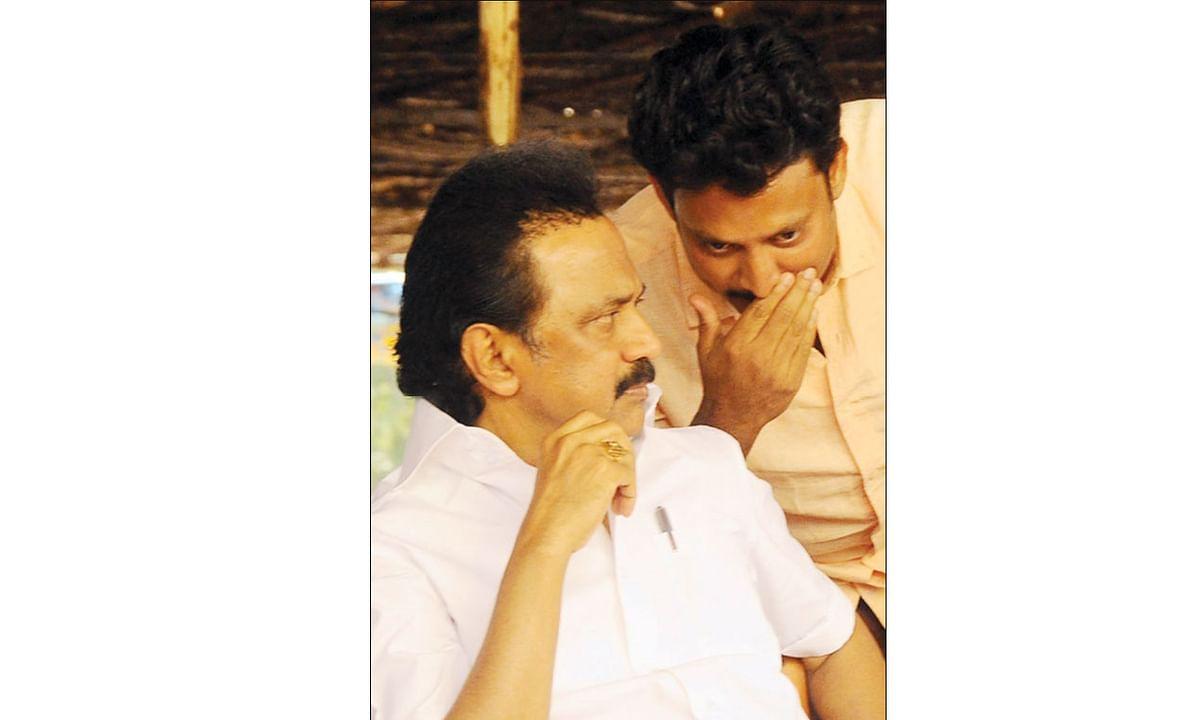 ஸ்டாலினுடன் அன்பில் மகேஷ்