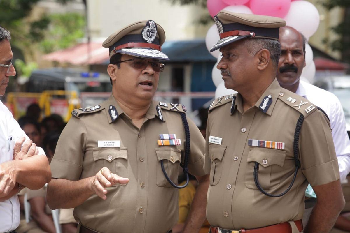 DGP J.K. Tripathy  and A.K.Viswanathan