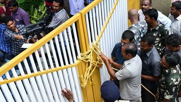 Chandrababu Naidu in House Arrest