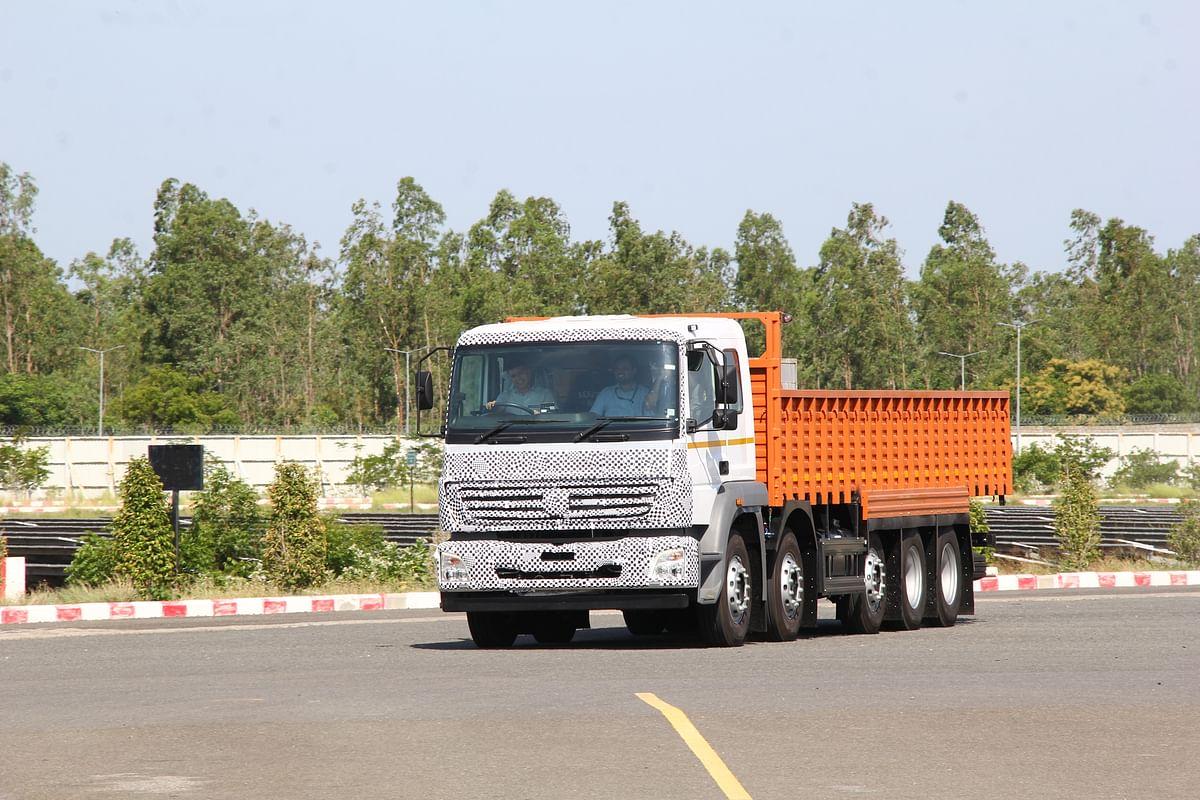 Bharatbenz BS 6 truck