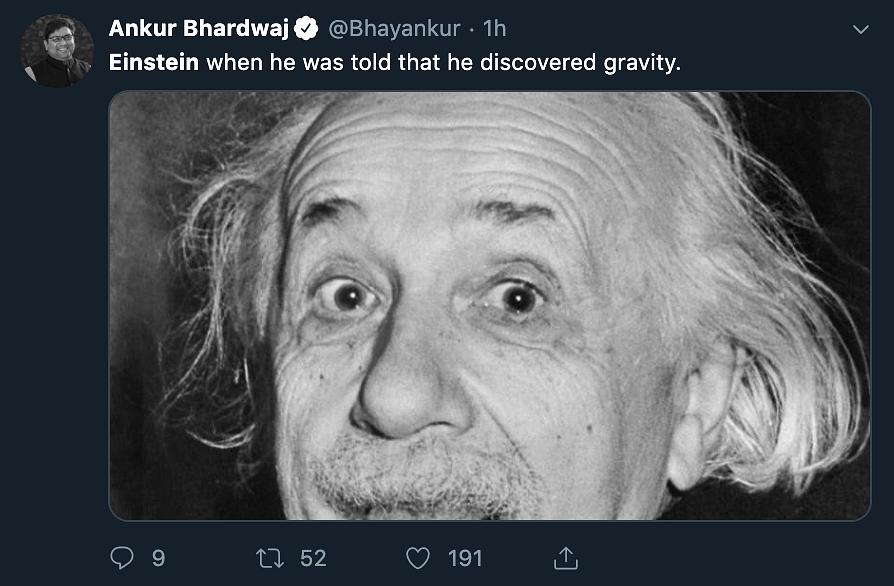 Einstein troll