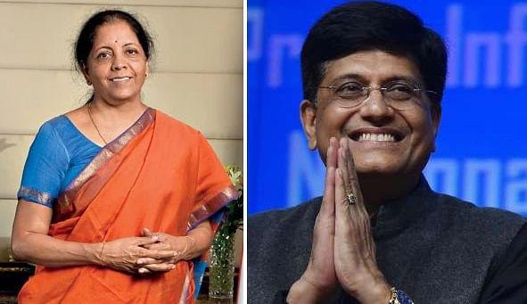 Nirmala sitharaman -Piyush goyal