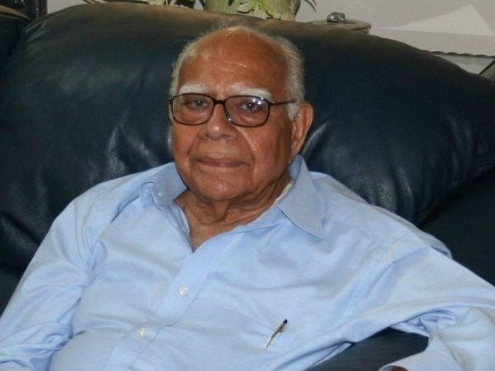 `18-ல் தொடக்கம்; 93-ல் ஓய்வு!' -  ராம் ஜெத்மலானியின் சட்ட, அரசியல் பயணம்