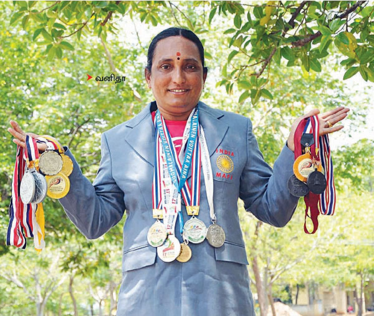 with Medals