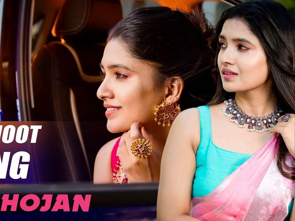 Vani Bhojan Gorgeous Photoshoot Making