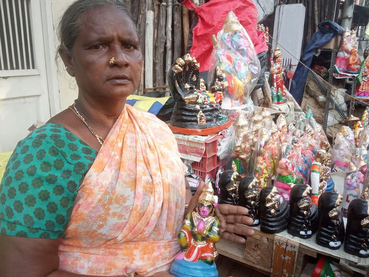 Murugamma - Golu Dolls Sales woman