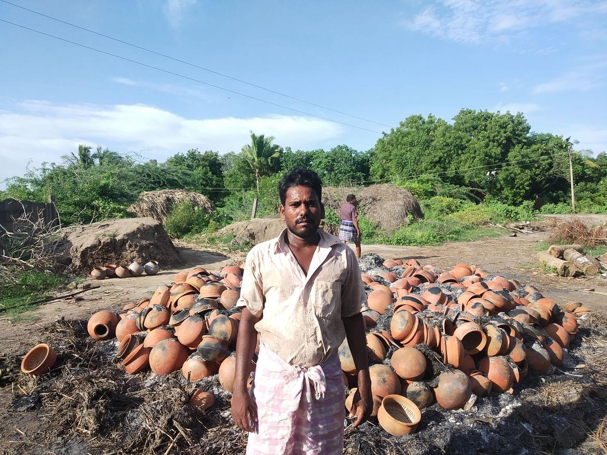 Clay Pot Maker Santhosh
