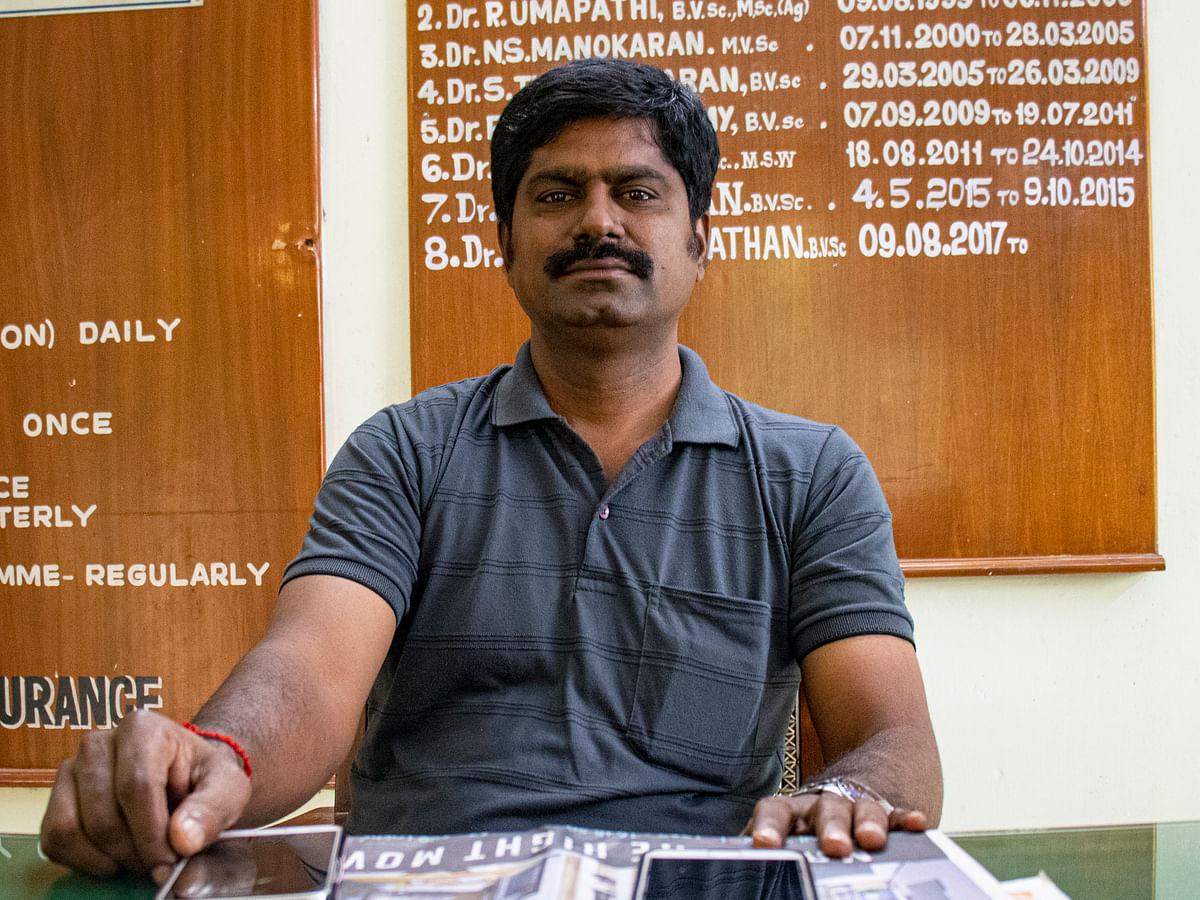 E.Senthil Nathan, Zoo Director