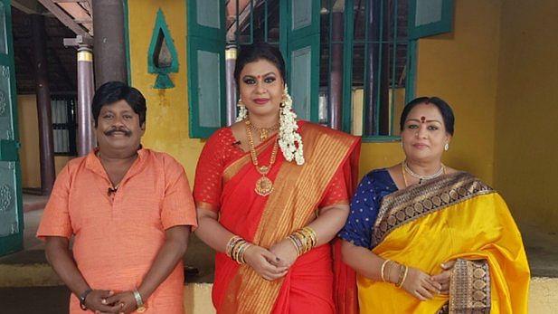 நடிகர் செந்தில், நடிகை சுலோச்சனா உடன் விசித்ரா