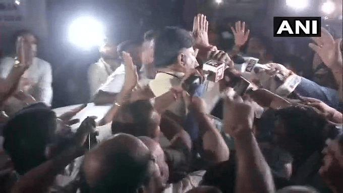 DK Shivakumar arrest