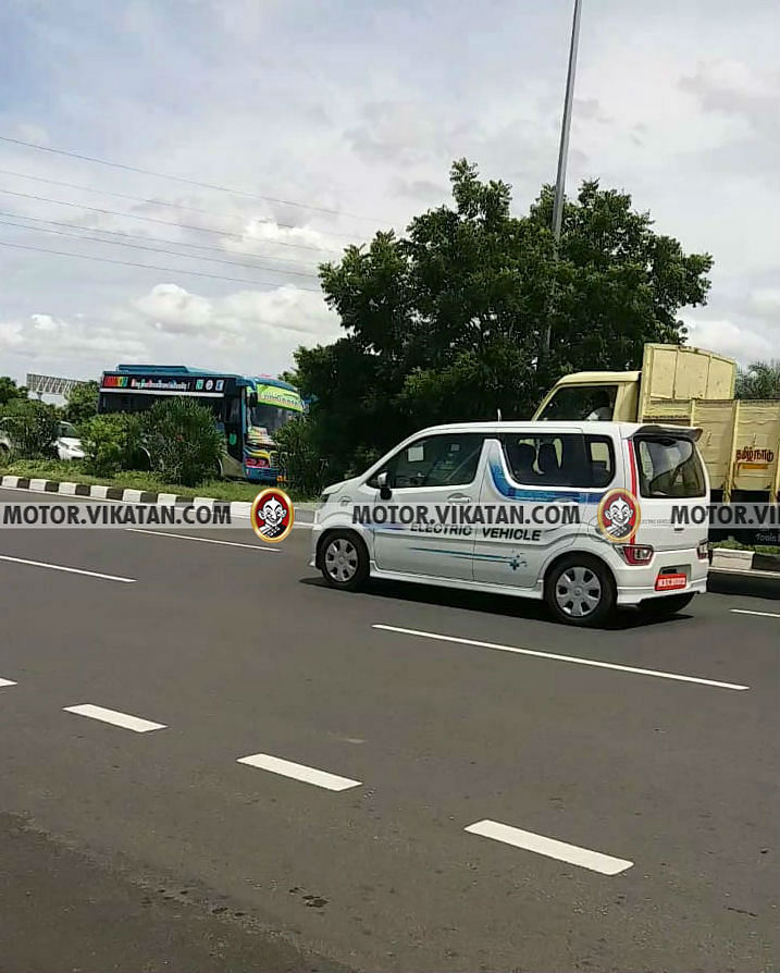Wagon R EV Spy