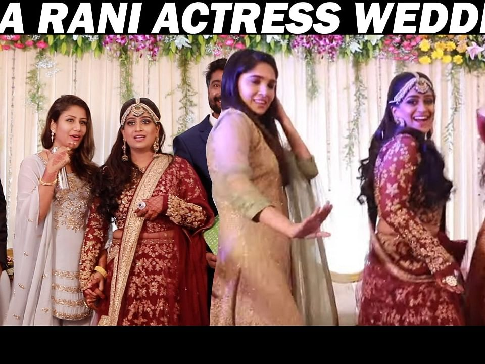 Alya Manasa, Vani Bhojan, Serial Celebs Attend `Deiva Magal' Shabnam Wedding Reception