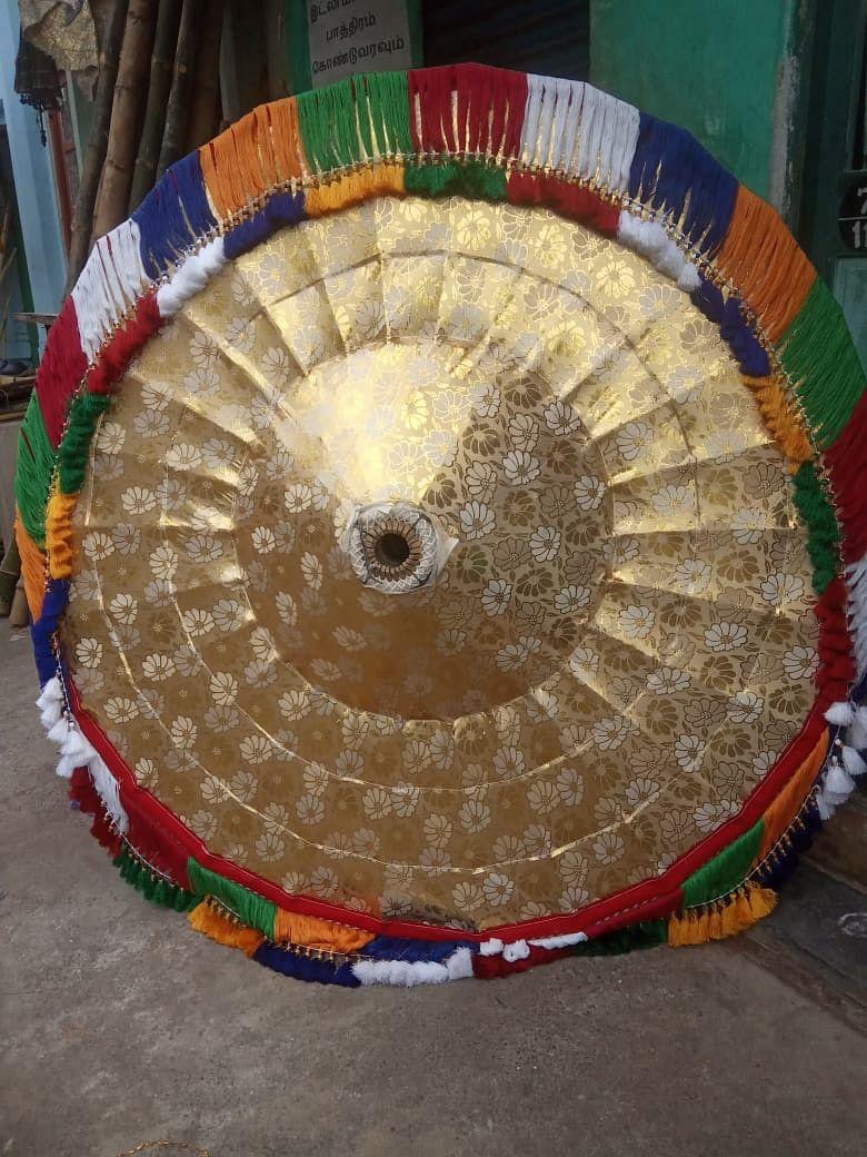 Temple umbrella
