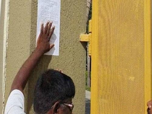 Demolition notice