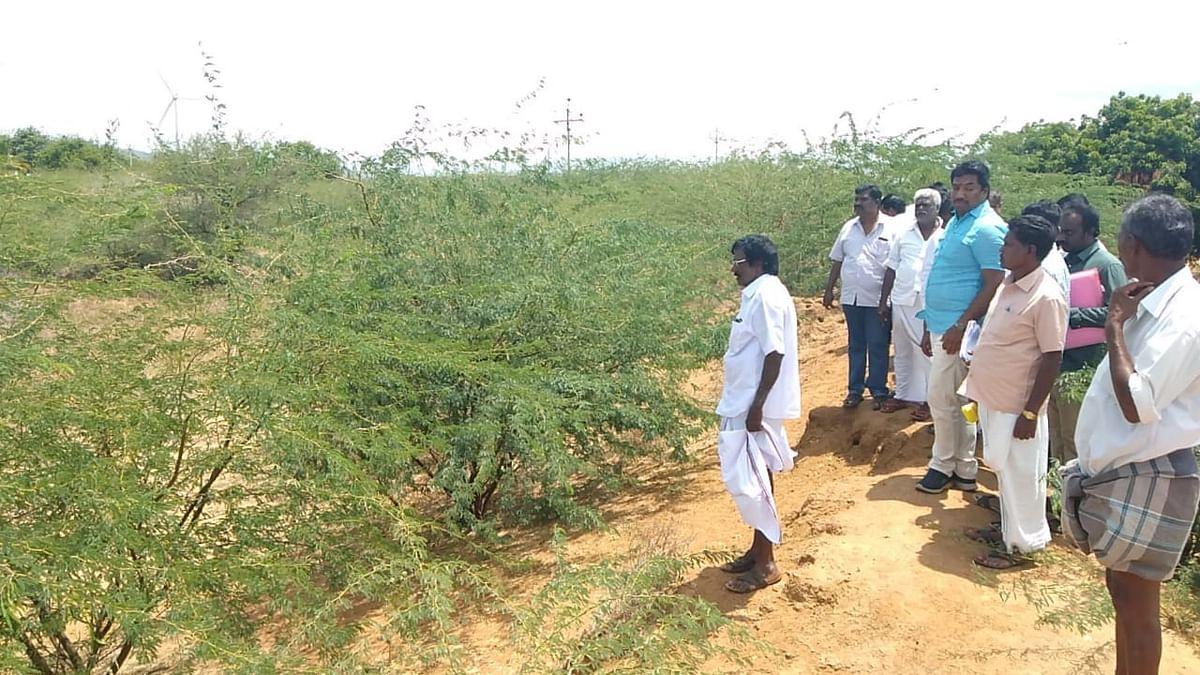 Jayapradeep inspects