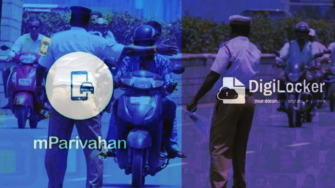 mParivahan and Digilocker Apps
