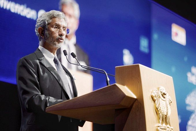 Indian Foreign affairs minister Jaishankar