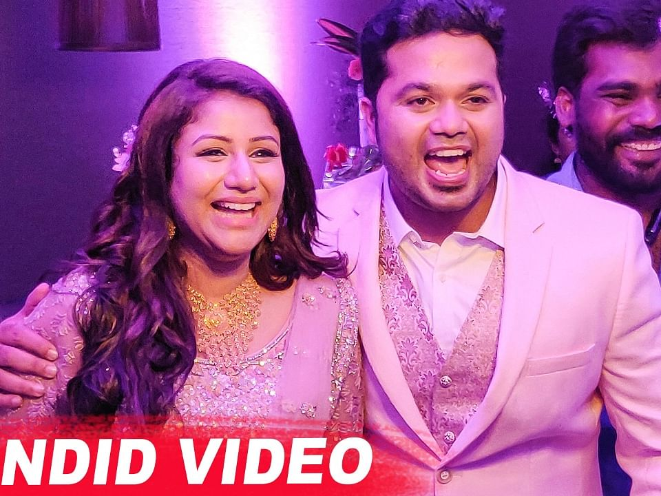 EXCLUSIVE: Alya Manasa & Sanjeev Marriage Reception Moments