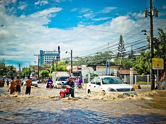 Rain flood, மழை