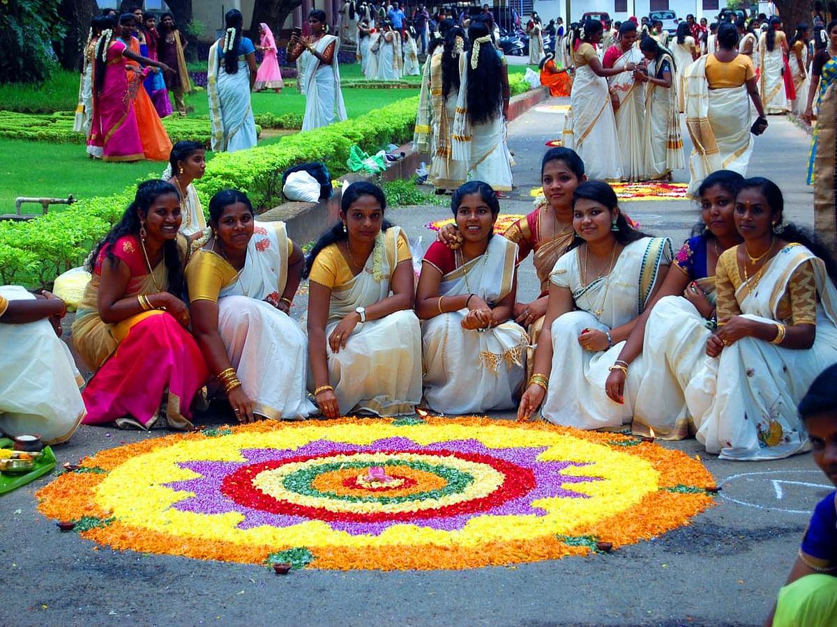 நாகர்கோவில் பெண்கள் கிறிஸ்த்துவ கல்லூரி ஓணம் பண்டிகை கொண்டாட்டம் ஆல்பம் படங்கள்.