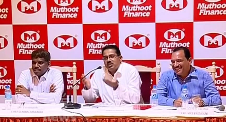 muthoot officials
