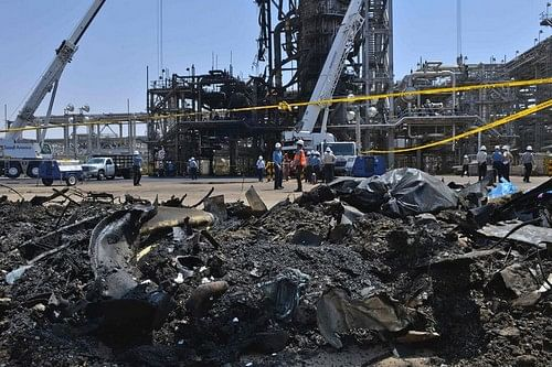 Saudi Aramco oil facility attacked
