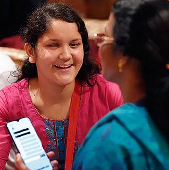 Samsung app for deaf blindness
