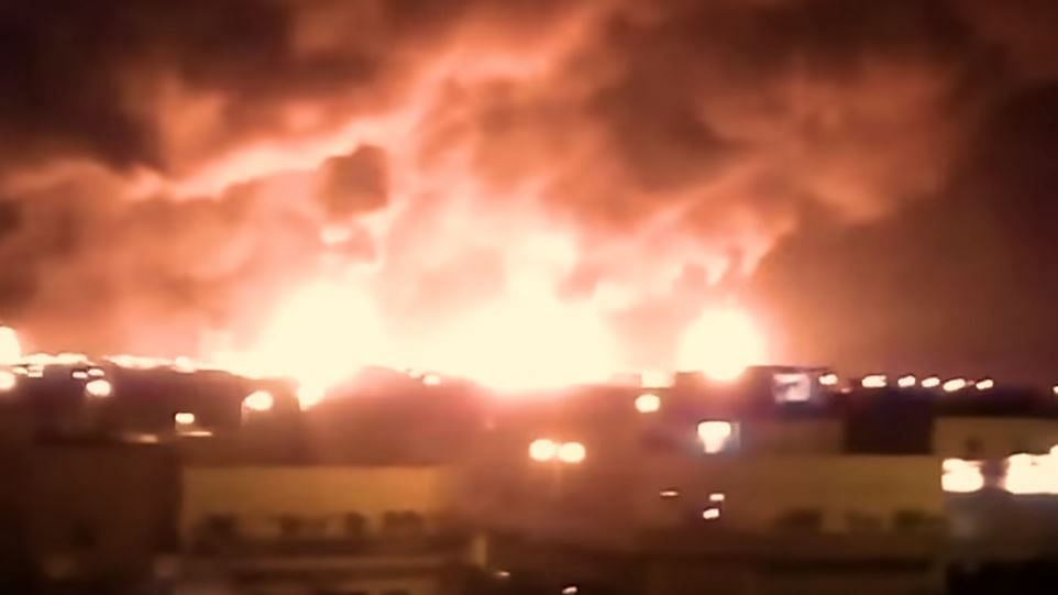 Drones attacked oil processing facility in Saudi Arabia