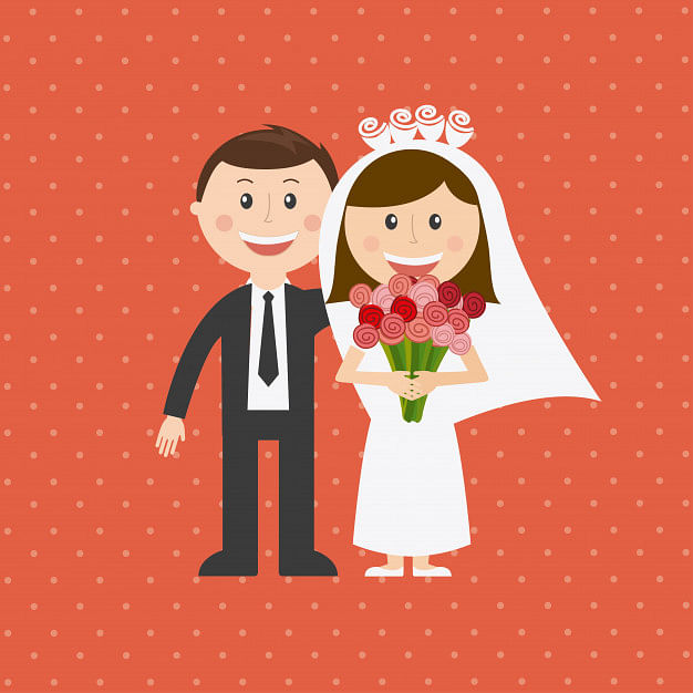 Animation Character Marriage