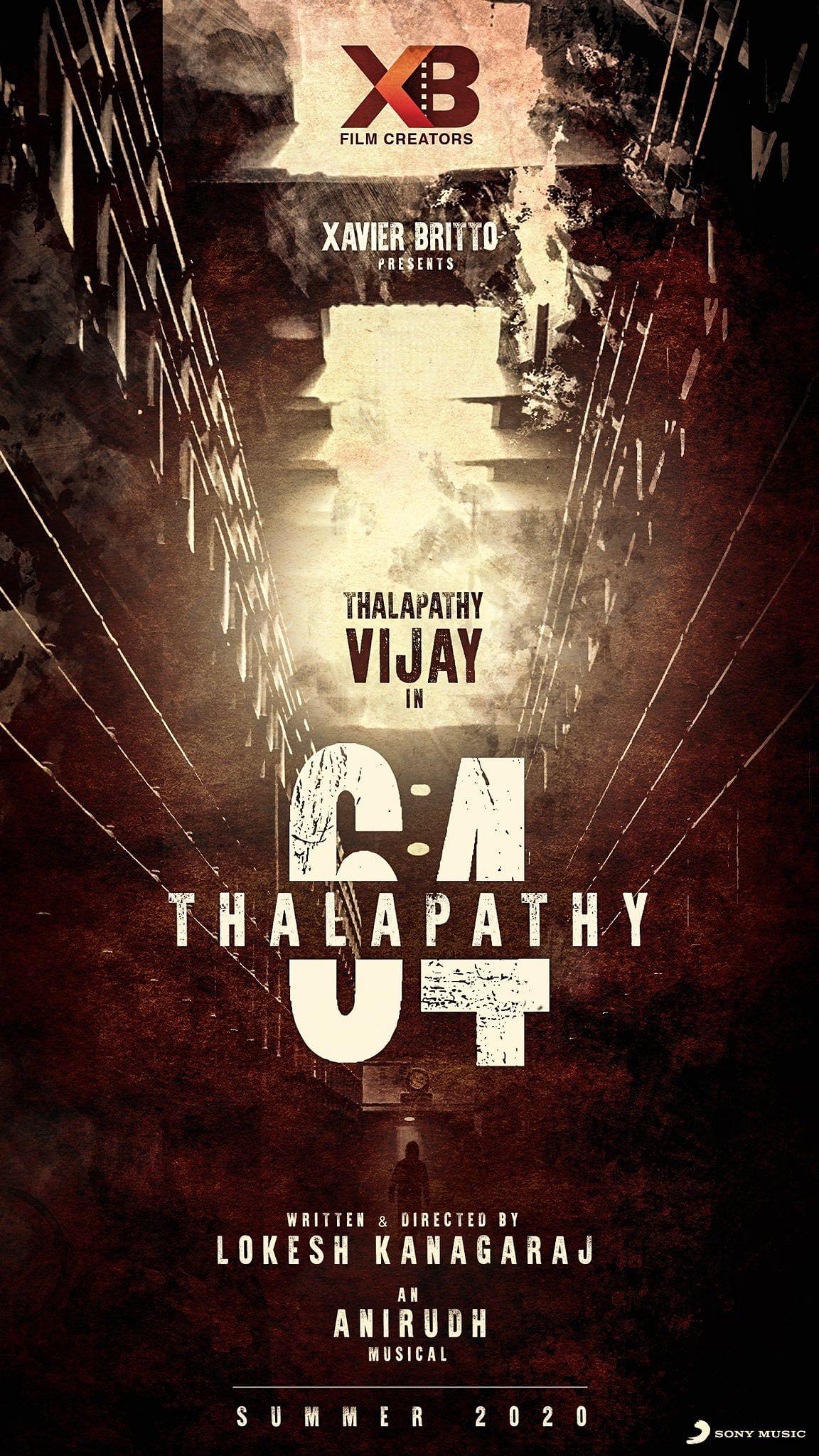 Vijay 64 announcement