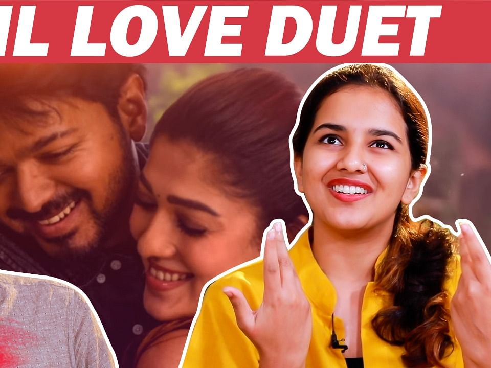 SOULFUL Bigil's Unakkaga Vazha Song Recreated by Duo Sreekanth &  Madhura | Vijay | Rahman