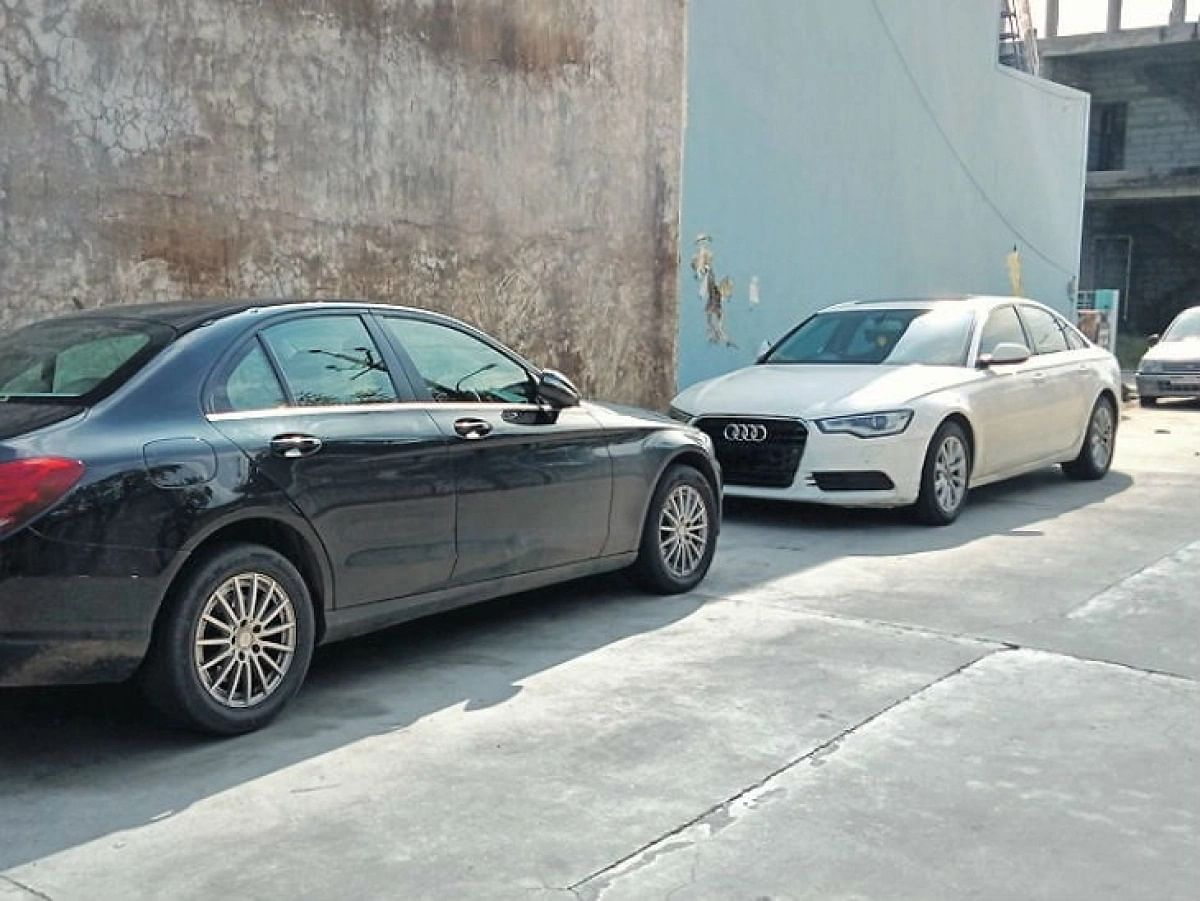 Seized luxury cars