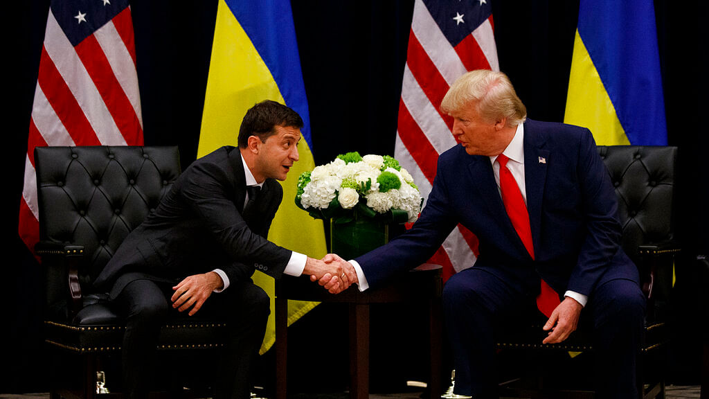 Volodymyr Zelensky - Trump