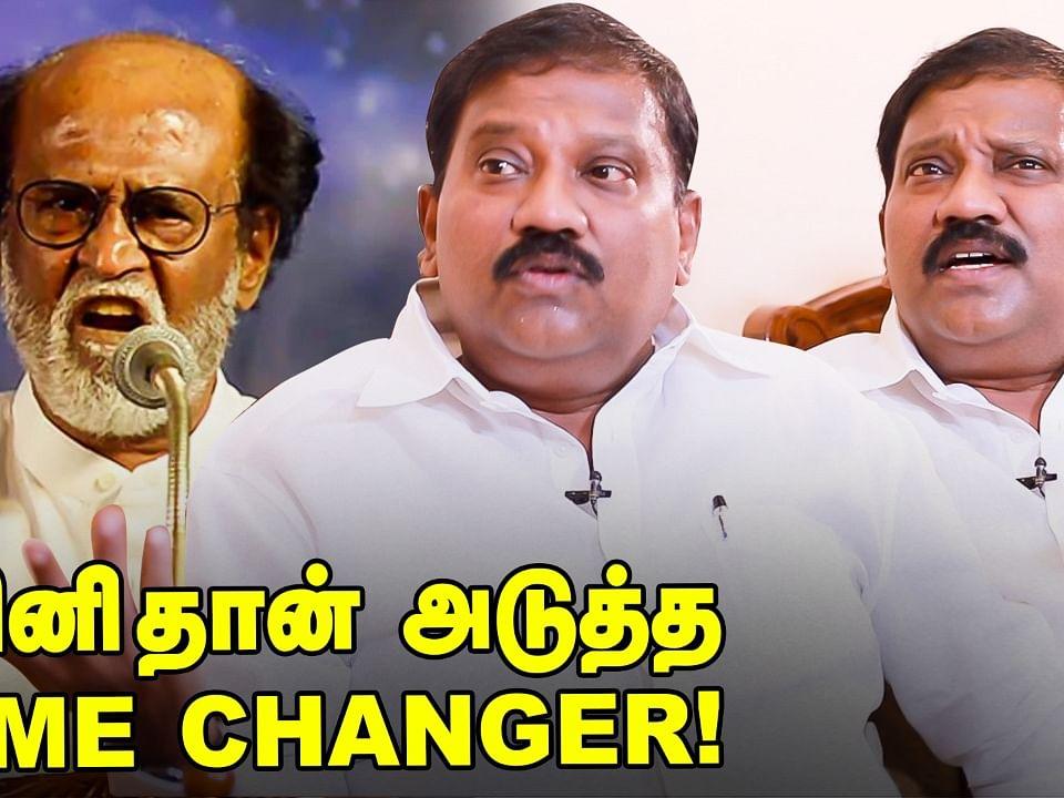 """``ரஜினிதான் அடுத்த Game Changer"""" - Karate R.Thiyagarajan Interview"""