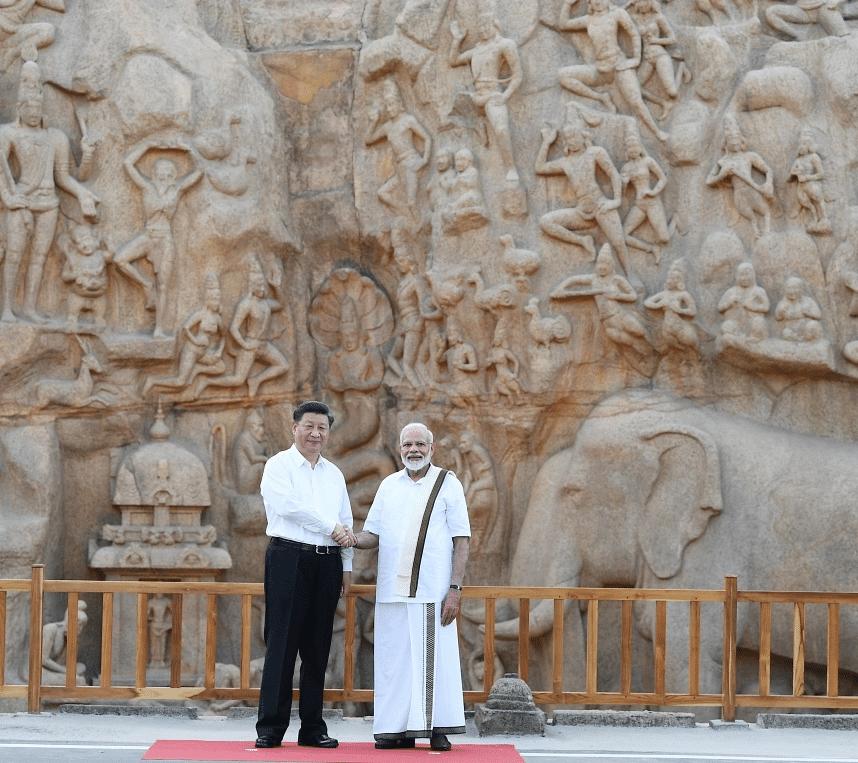 மோடி - ஜி ஜின்பிங்