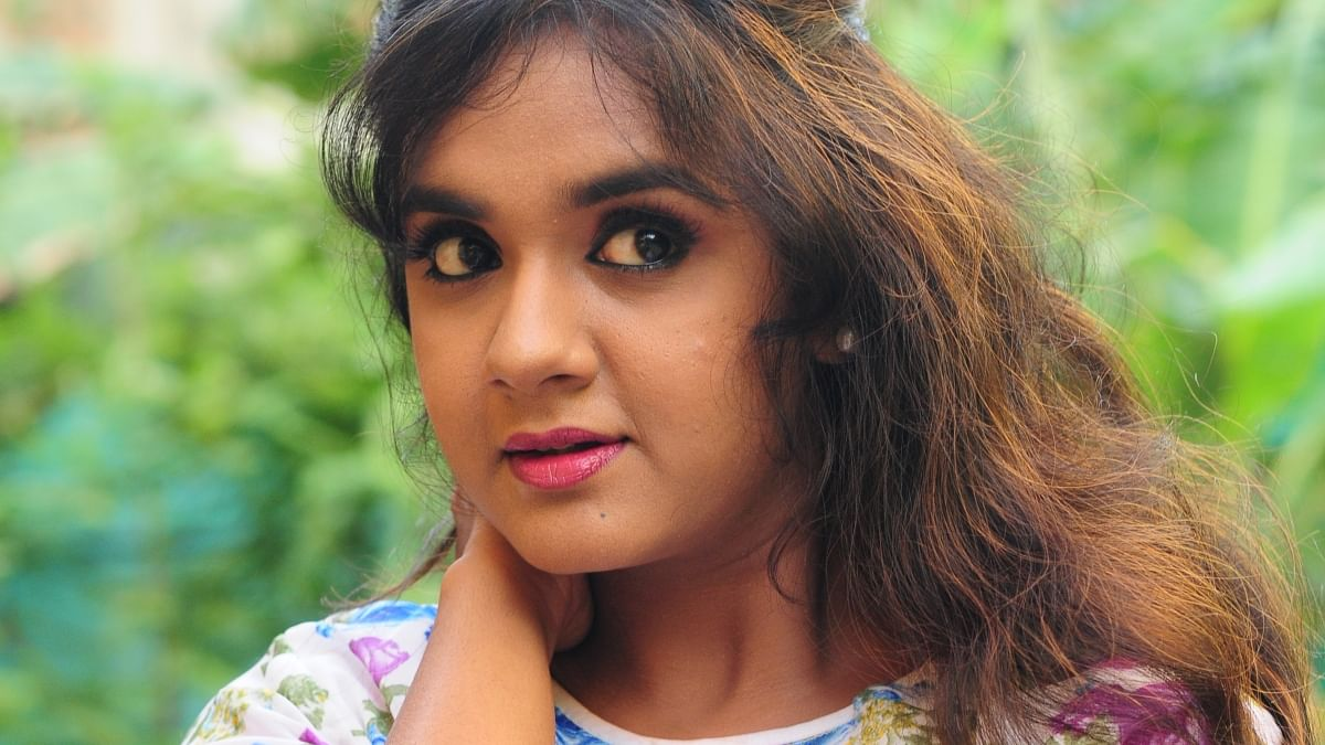 Serial actress Sahana