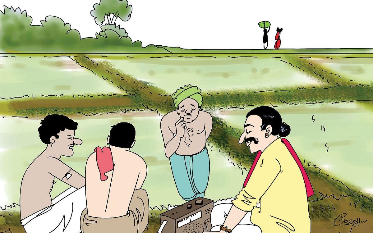 மண்புழு மன்னாரு : வானொலி விவசாயிகளும் ஈஸ்வரப்பா உபயமும்!