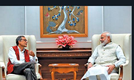 Abhijit Banerjee, Narendra Modi