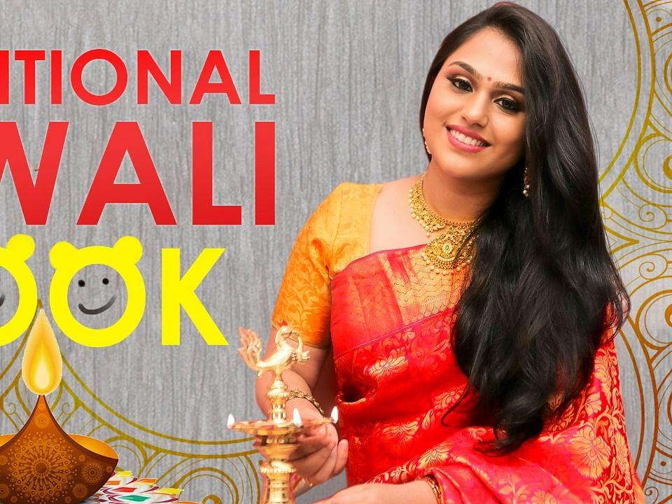 Diwali Special Makeup Tutorial 2019 | Diwali Look